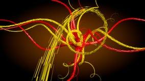 Conexión abstracta de la neurona Imagen de archivo libre de regalías