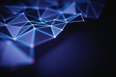 Conexión abstracta de la tecnología del fondo libre illustration