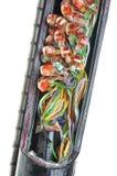 Conexión de cable Fotos de archivo
