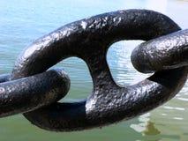 Conexión de cadena gigante Foto de archivo libre de regalías