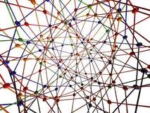 Conexión de la molécula ilustración del vector