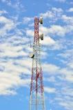 Conexión de la radioestación retransmisor, estación base móvil Fotografía de archivo