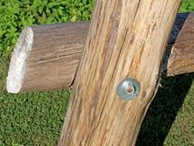Conexión de tornillo Fotografía de archivo