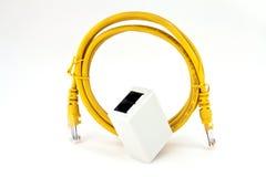 Conexión del ADSL Fotografía de archivo