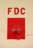 Conexión del departamento del fuego Imágenes de archivo libres de regalías