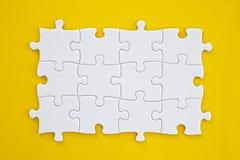 Conexión del rompecabezas Imagen de archivo libre de regalías
