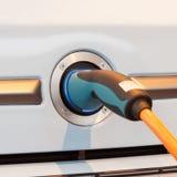 Conexión eléctrica para el coche Fotografía de archivo libre de regalías