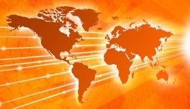 Conexión global stock de ilustración