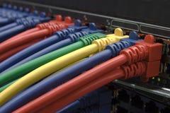 Conexión a internet de alta velocidad imagen de archivo