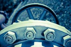 Conexión de la válvula del tubo Imagenes de archivo
