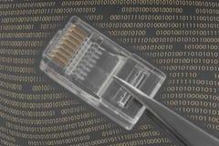 Conexion de la red Fotos de archivo