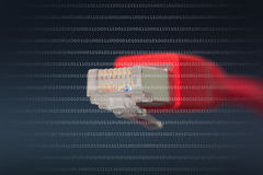 Conexion de réseau Image libre de droits