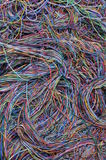 Conexiones abstractas de la red de ordenadores Imágenes de archivo libres de regalías