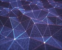 Conexiones abstractas de la tecnología del fondo libre illustration