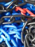 Conexiones de cadena Fotografía de archivo