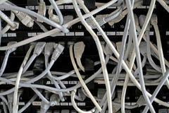 Conexiones de red Fotos de archivo