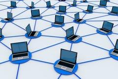Conexiones de red Fotos de archivo libres de regalías