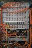 Conexiones de red. Foto de archivo libre de regalías