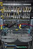 Conexiones de red del ranurador Imagen de archivo