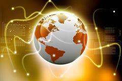 Conexiones globales Fotos de archivo