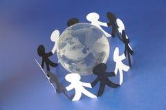 Conexiones globales II Imágenes de archivo libres de regalías