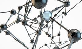 Conexiones mecánicas Imagen de archivo libre de regalías