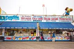 Coney-Insel-Promenade Lizenzfreie Stockbilder