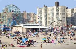 Coney Island Fotografia Stock Libera da Diritti