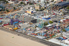 Coney Island Aerial Royalty Free Stock Photo