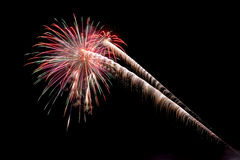 Coney Island Beach Fireworks Royalty Free Stock Photos
