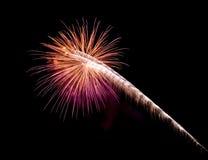 Coney Island Beach Fireworks royalty free stock photography