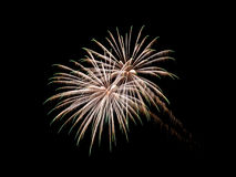 Coney Island Beach Fireworks Royalty Free Stock Photos
