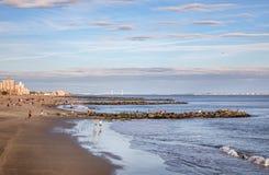 Coney Island Beach in New York City Stock Image