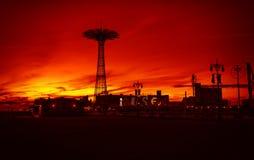Coney Island Beach in New York City Royalty Free Stock Photography