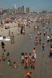 Coney Island Beach Weekend NYC USA stock photography