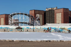 Coney Island, Brooklyn, New York Stockbilder