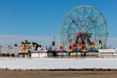 Coney Island, Brooklyn, New York Stockbilder