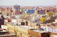 Coney island brooklyn new york air view panorama Stock Photography