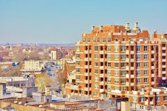 Coney island brooklyn new york air view unique Stock Photography