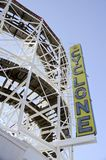 Coney Island Cyclone Stock Images