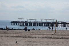 Coney Island dok zdjęcia royalty free
