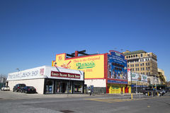 Coney Island Landmarks royalty free stock photo