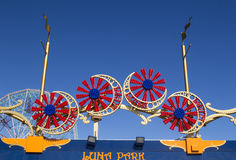 Coney Island Luna Park in Brooklyn, New York Royalty Free Stock Photo
