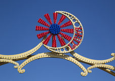 Coney Island Luna Park emblem Stock Photos