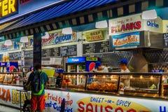 Coney Island Luna Park at night Brooklyn New York Stock Photography