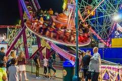 Coney Island Luna Park at night Brooklyn New York Royalty Free Stock Photos
