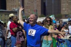 Coney Island Mermaid Parade. Brooklyn, NY - June 23: Participant of the annual Coney Island Mermaid Parade.  Taken June 23, 2007 in Brooklyn, NY Royalty Free Stock Photo