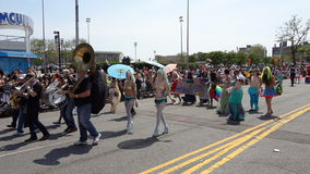 The 2013 Coney Island Mermaid Parade 116 Stock Images