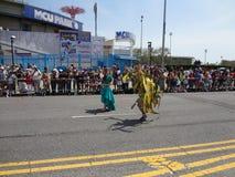The 2013 Coney Island Mermaid Parade 117 Stock Photography
