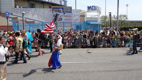The 2013 Coney Island Mermaid Parade 182 Stock Photo